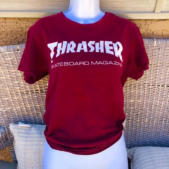 Thrasher Tops - WOMENS THRASHER T-SHIRT 5dae58c9a4